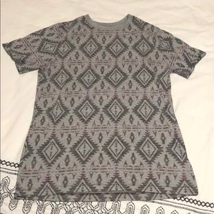 Men's tribal designed shirt